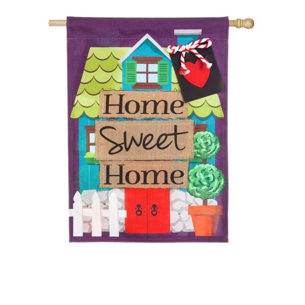 Home Sweet Home House Flag