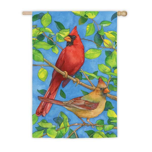 Cardinals House Flag