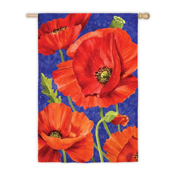 Poppies House Flag