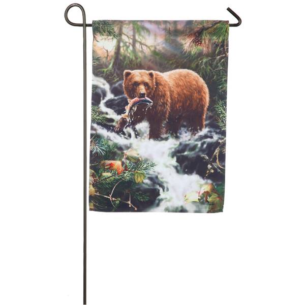 Grizzly Gorge Garden Flag