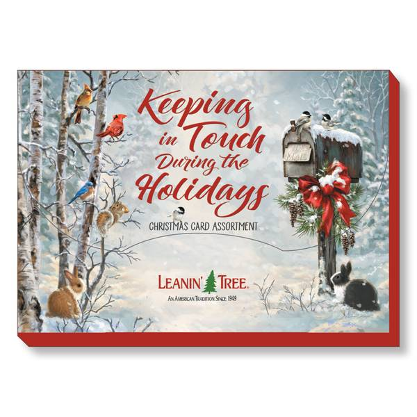 20-Count Keeping In Touch Holiday Cards