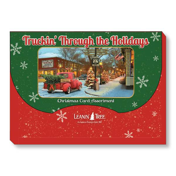 20-Count Truckin' Through Holiday Cards