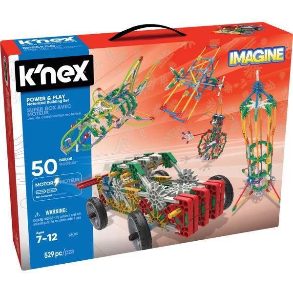 Imagine Power & Play Motorize 50 Model Building Set