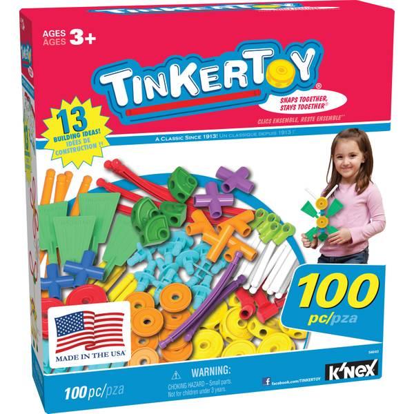 100-Piece Tinkertoy Set