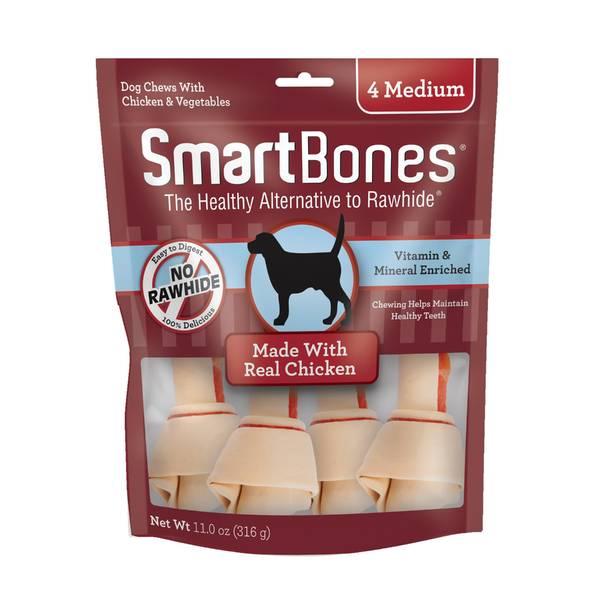 Smart Bones Medium Chicken 4-Pack