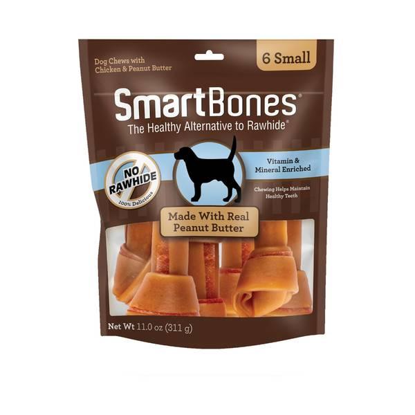 Smart Bones Medium Peanut Butter 4-Pack