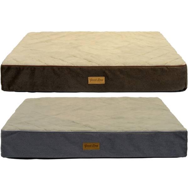 """40""""x30""""x6"""" Quilt Top Orthopedic Pet Bed Assortment"""
