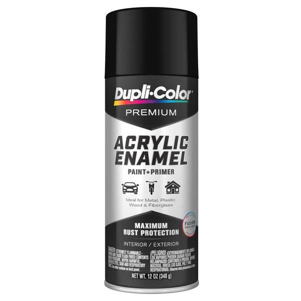 Premium Acrylic Enamel Semi-Gloss Black 12 oz