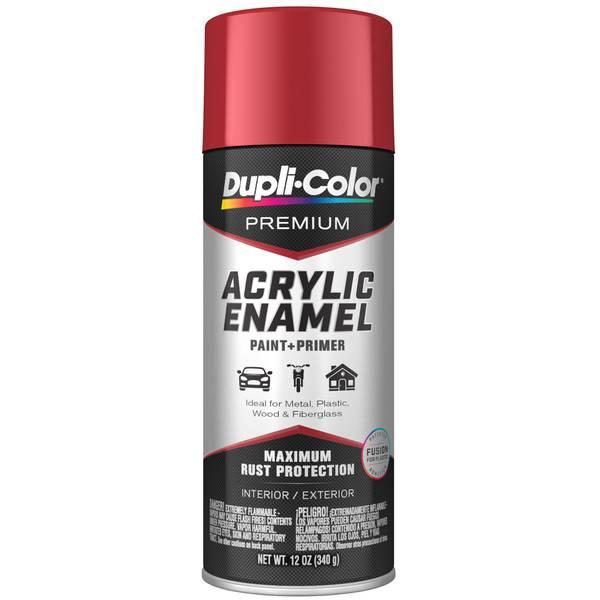 Premium Acrylic Enamel Cherry Red 12 oz