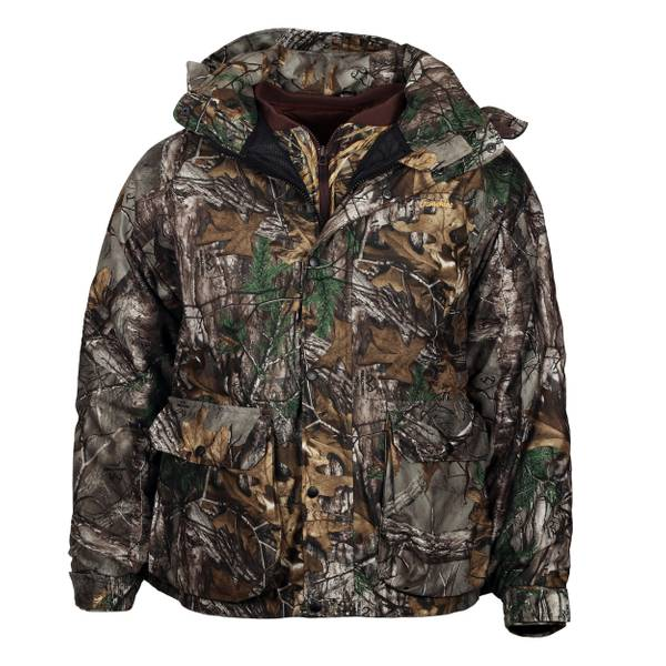 Gamehide Men's 4-in-1 Flyway Combo Parka