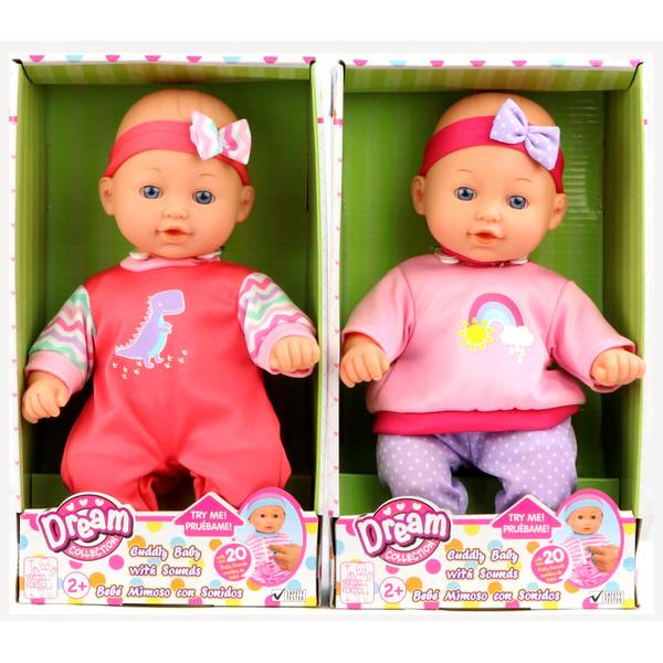 """12"""" Baby Doll with Sounds Assortment"""