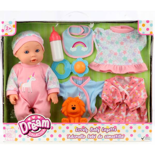 "12"" Lovely Baby with Layette Set"