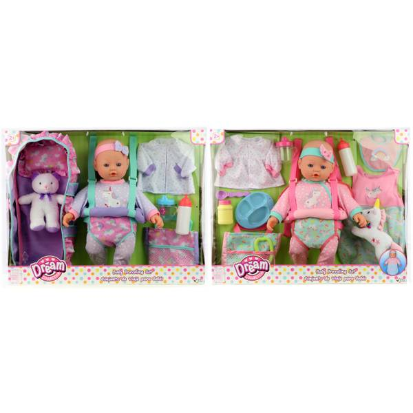 "16"" Baby Traveling Set Assortment"