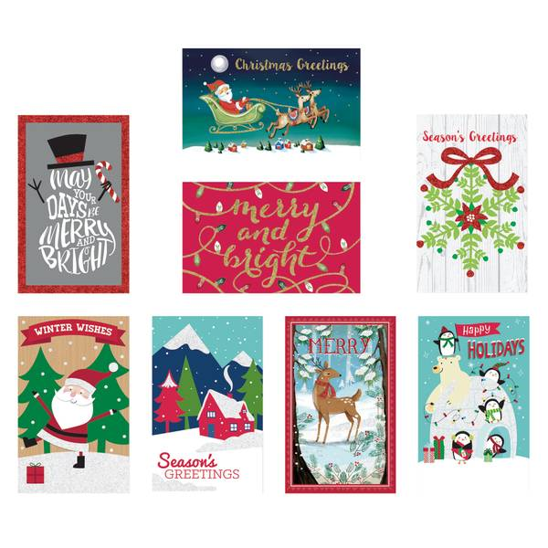 24-Count Value Pack Christmas Cards