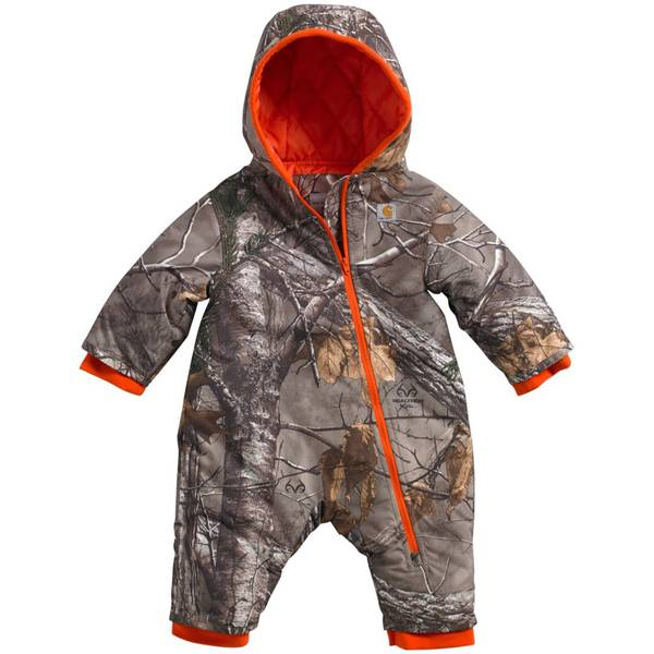 Carhartt Infant Boys' Camo Snowsuit (1140566 CM8659-CR01-A1-12M) photo