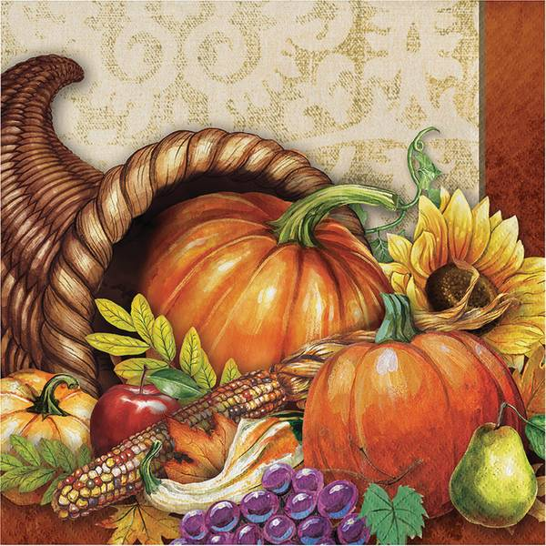 Bountiful Luncheon Napkin 16ct 2 ply