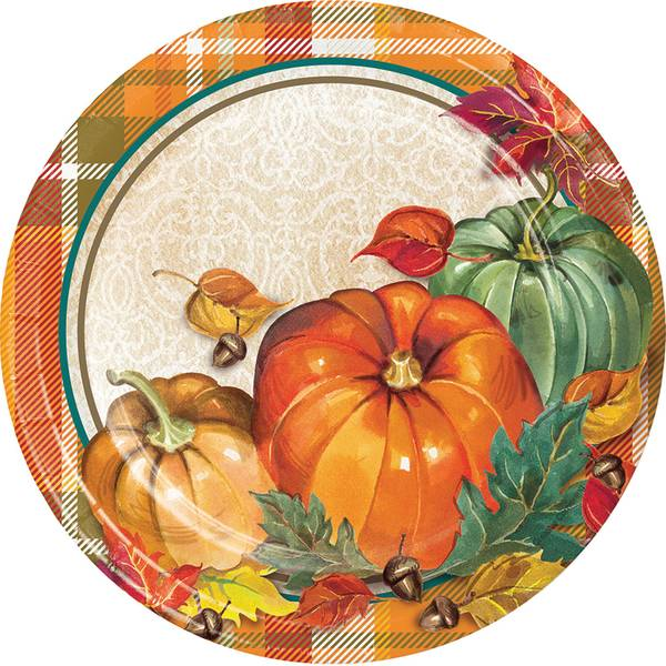 "Traditional Luncheon 7"" Plate 8 ct"