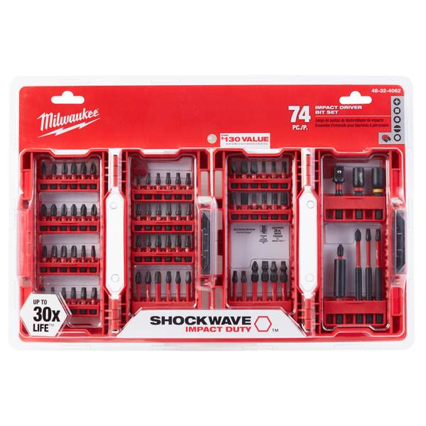 74-Piece Shockwave Impact Set