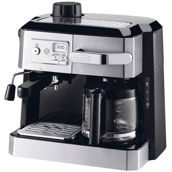 De'Longhi Combo Steam Espresso 10 Cup Coffee Maker | Blain ...