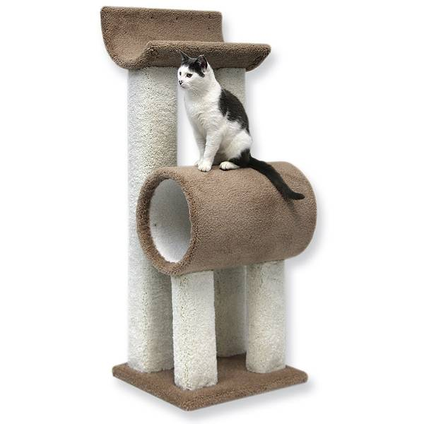 4' Tunnel & Bed Cat Tower