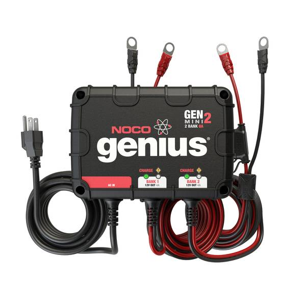 Pleasing Noco Genius 8A 2 Bank Onboard Battery Charger Wiring Digital Resources Instshebarightsorg