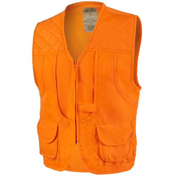 Exxel Outdoors Men's Front Load Game Vest Blaze Orange