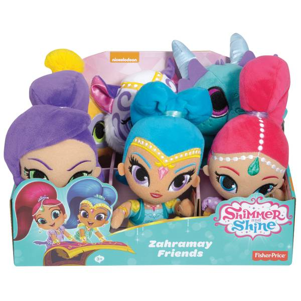 Shimmer & Shine Zahramay Friends Plush Assortment