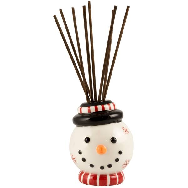 Frosty Hand Painted Reed Diffuser