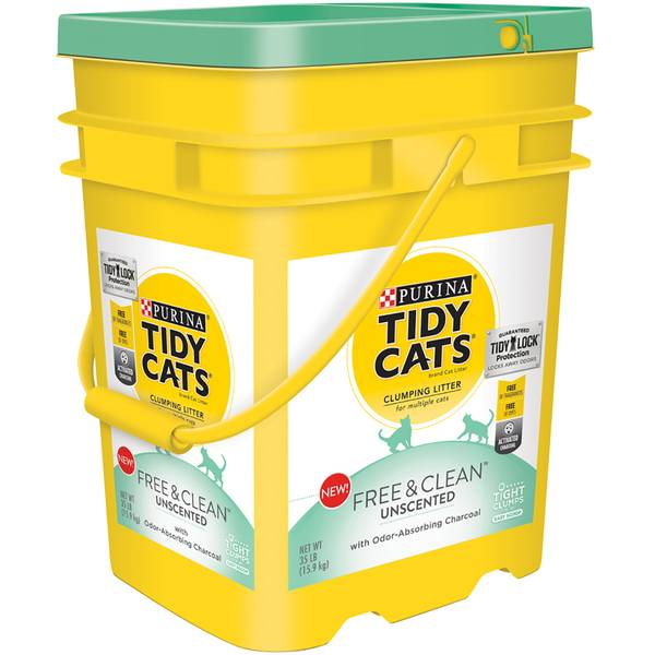 35 lb Free & Clean Unscent Scoop Clumping Litter
