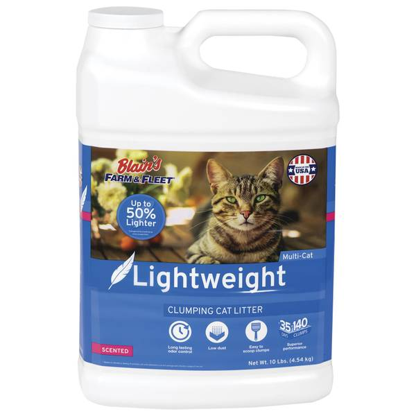 10 lb Lightweight Scented Cat Litter