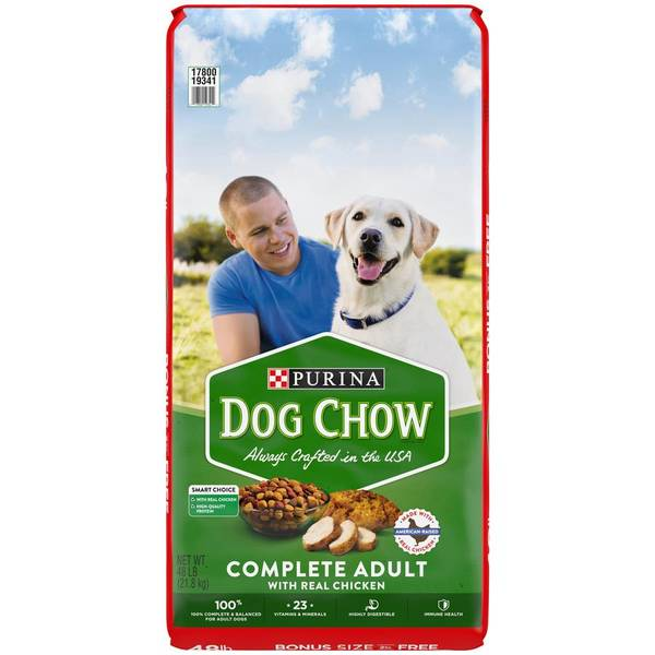 Dog Chow with Real Chicken