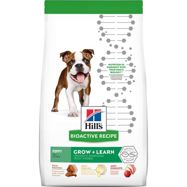 3.5-11 lb Grow + Learn Dry Puppy Food