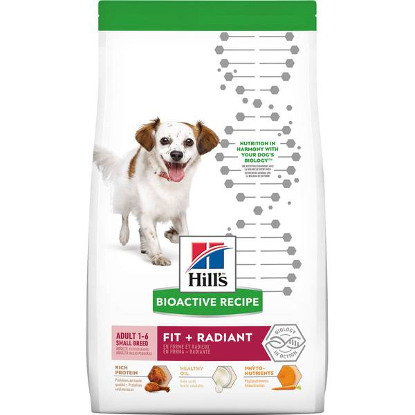 3.5 lb Fit + Radiant Small Breed Adult Dry Dog Food
