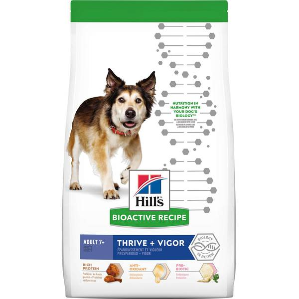 3.5-21.5 lb Thrive + Vigor Chicken Medium Breed Dry Dog Food