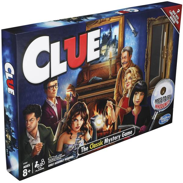 Clue Classic Reveal Game
