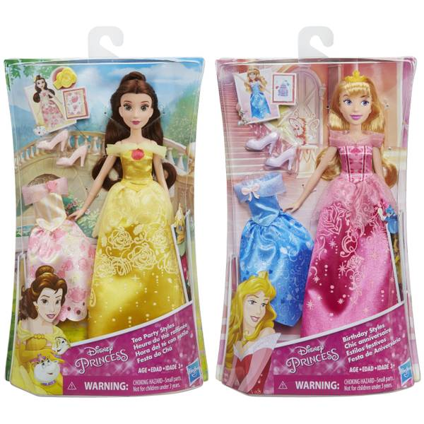 Princess Doll with Fashion Assortment
