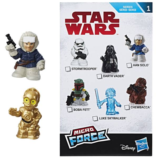 Star Wars Micro Force Blind Bags Assortment
