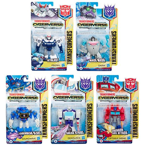 Transformers Cyberverse Warrior Assortment