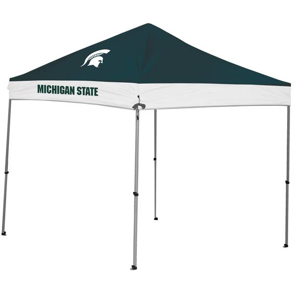 9x9 Michigan State Spartans Straight Leg Canopy