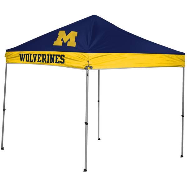 9x9 Michigan Wolverines Straight Leg Canopy