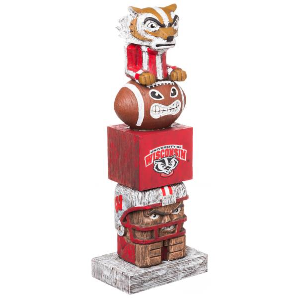Wisconsin Badgers Tiki Tiki Totem