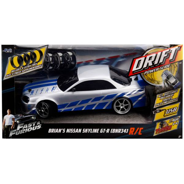 Fast & Furious Drift Power Slide Nissan Skyline GT-R