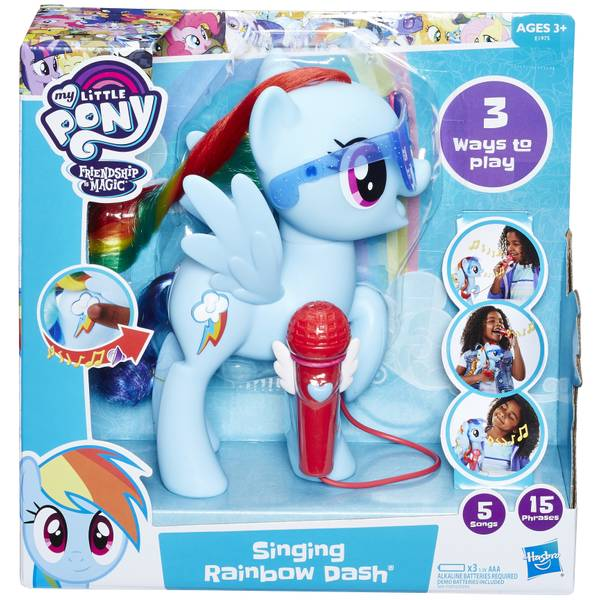 "6"" Singing Rainbow Dash"
