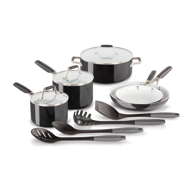 Select 12-Piece Ceramic Deluxe Cookware Set