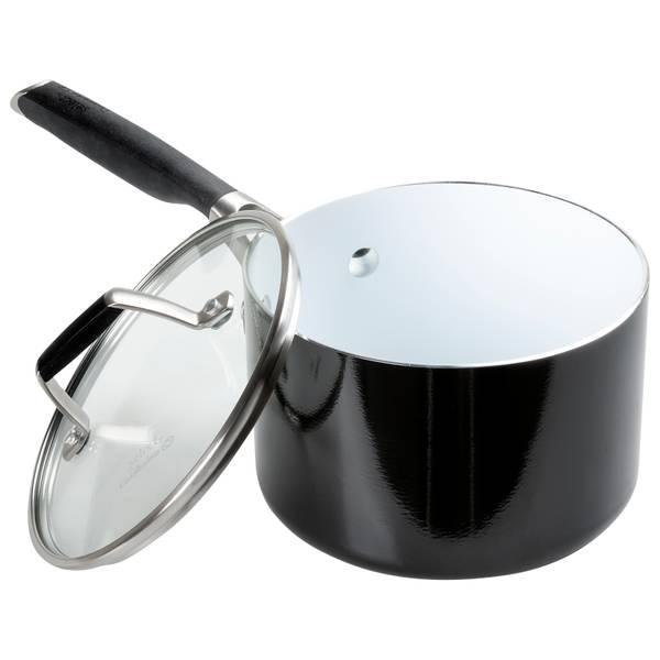 2 5 Quart Ceramic Covered Sauce Pan