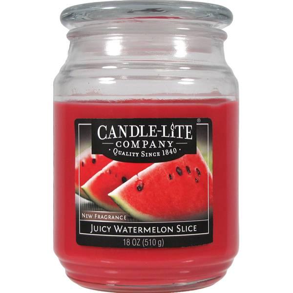 18 oz Juicy Watermelon Slice Candle