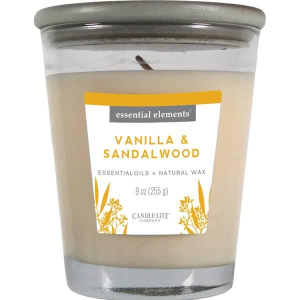 9 oz Vanilla & Sandalwood Candle