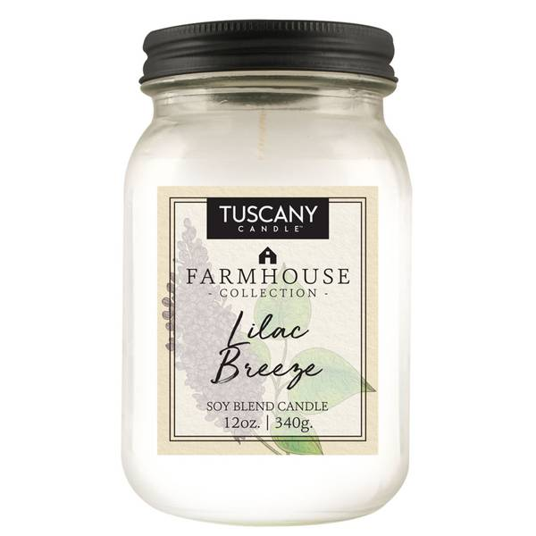 12oz Lilac Breeze Farmhouse Candle