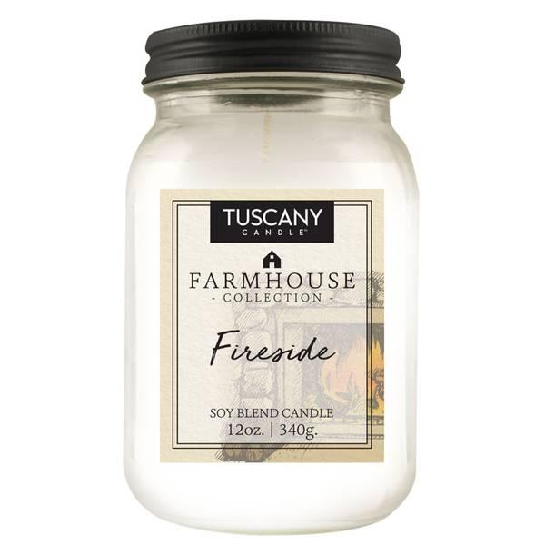 12oz Fireside Farmhouse Candle