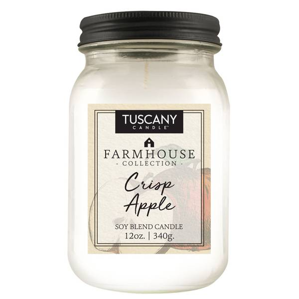 12oz Crisp Apple Farmhouse Candle